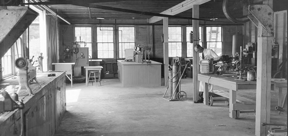 Engineering shop, Alabama Polytechnic Institute (now Auburn University), 1925